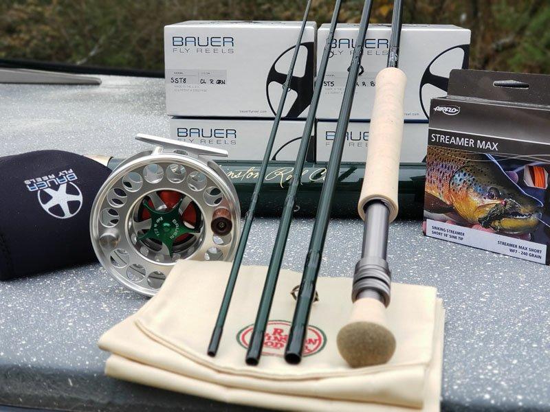 Gear For Winter Streamer Fly Fishing