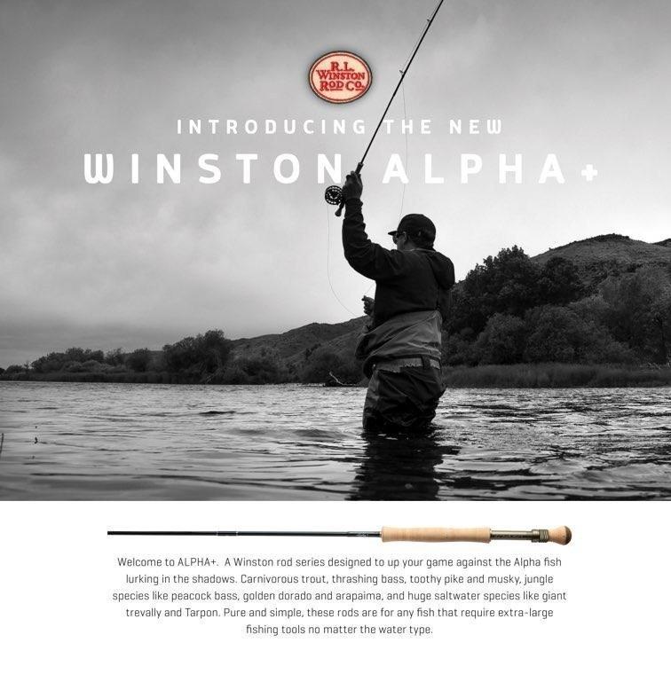 New Winston Streamer Rod Is Here – Alpha+